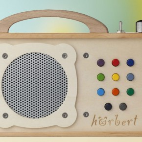 Hörbert - MP3 Player aus Holz